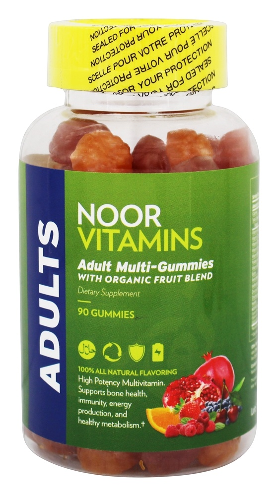 Noor Vitamins - Adult Multi-Gummies - 90 Gummies