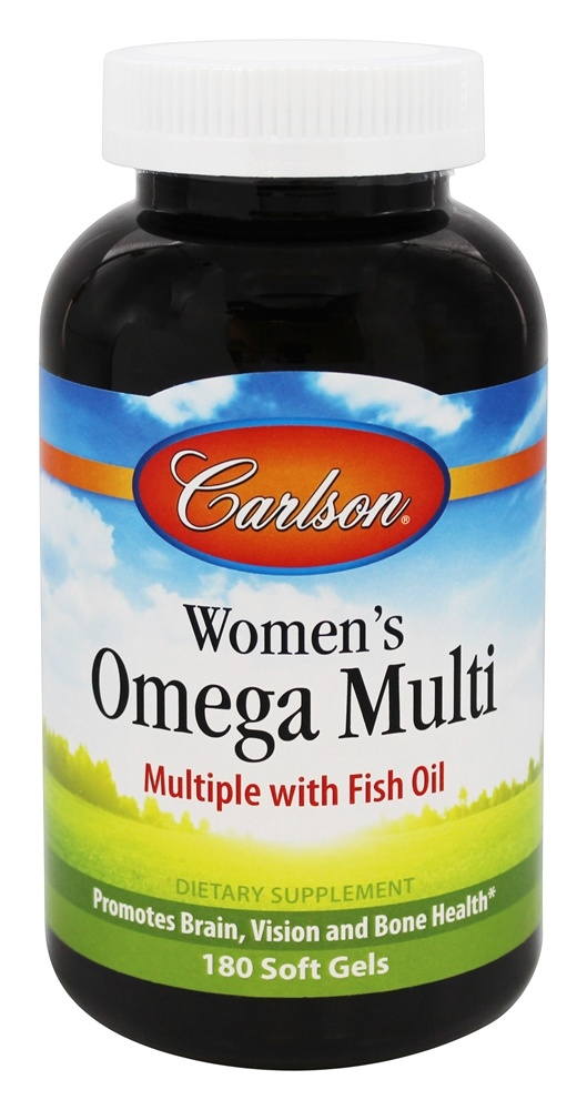 Carlson Labs - Women's Omega Multi - 180 Softgels