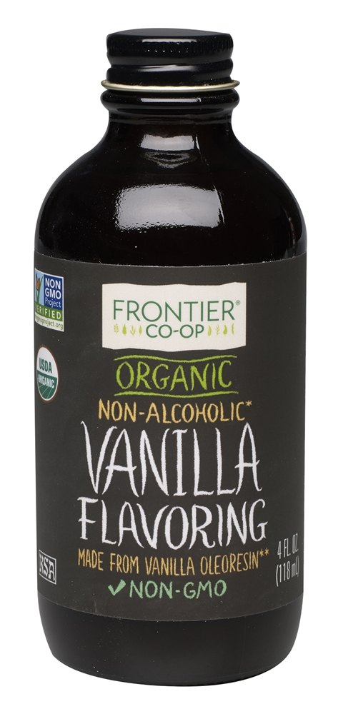 Frontier Natural Products - Organic Vanilla Flavoring - 4 oz.