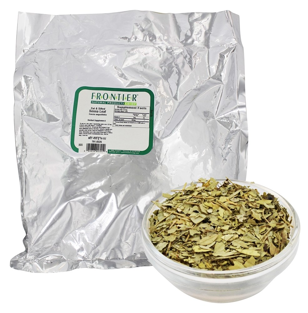 Frontier Natural Products - Cut and Sifted Senna Leaf - 1 lb.