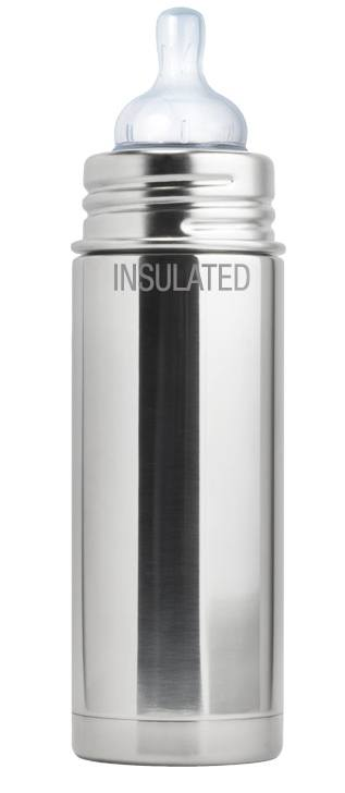 Pura - Insulated Stainless Steel Sippy Bottle with Sippy Spout - 9 oz.