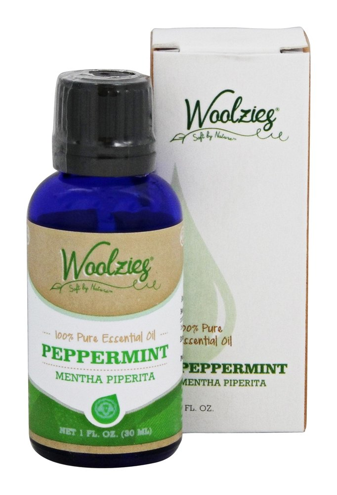 Woolzies - 100% Pure Peppermint Essential Oil - 1 oz.
