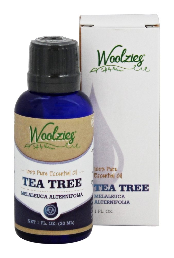 Woolzies - 100% Pure Tea Tree Essential Oil - 1 oz.