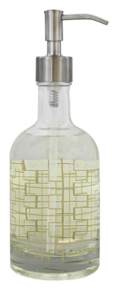 Caldrea - Glass Hand Soap Refillable Rosewater Driftwood - 12 oz.