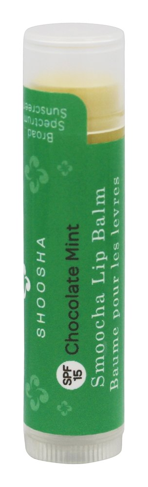Shoosha - Smoocha Lip Balm Chocolate Mint 15 SPF - 0.15 oz.