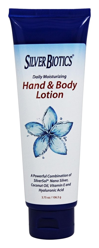 American Biotech Labs - Silver Biotics Hand & Body Lotion - 3.75 oz.