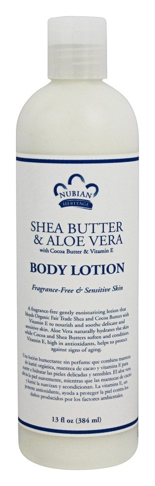 Nubian Heritage - Body Lotion Shea Butter & Aloe Vera - 13 oz.
