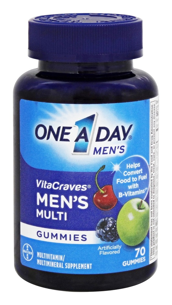 One A Day - Men's VitaCraves Multivitamin Gummies - 70 Gummies