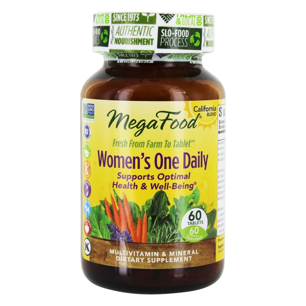 MegaFood - Women's One Daily - 60 Tablets