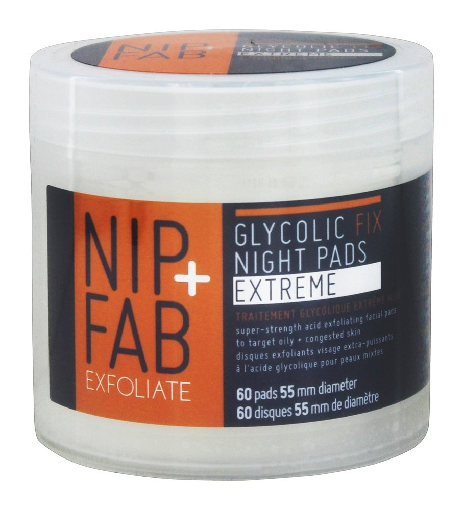 Nip+Fab - Glycolic Fix Night Pads Extreme - 60 Pad(s)