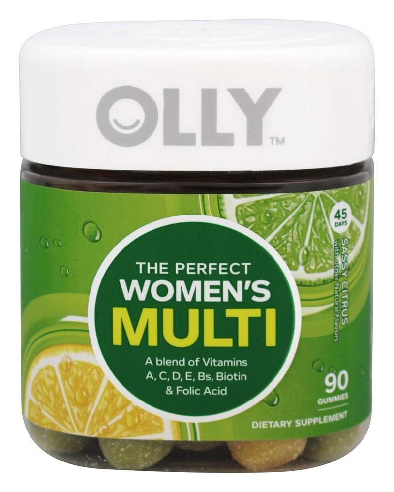 Olly - The Perfect Women's Multi Sassy Citrus - 90 Gummies