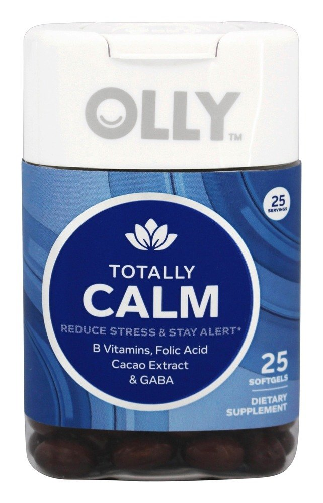 Olly - Totally Calm - 25 Softgels
