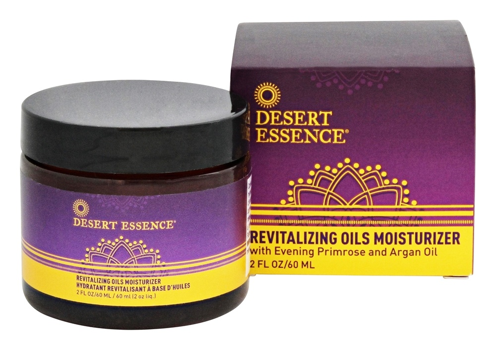 Desert Essence - Revitalizing Oils Moisturizer - 2 oz. LUCKY PRICE