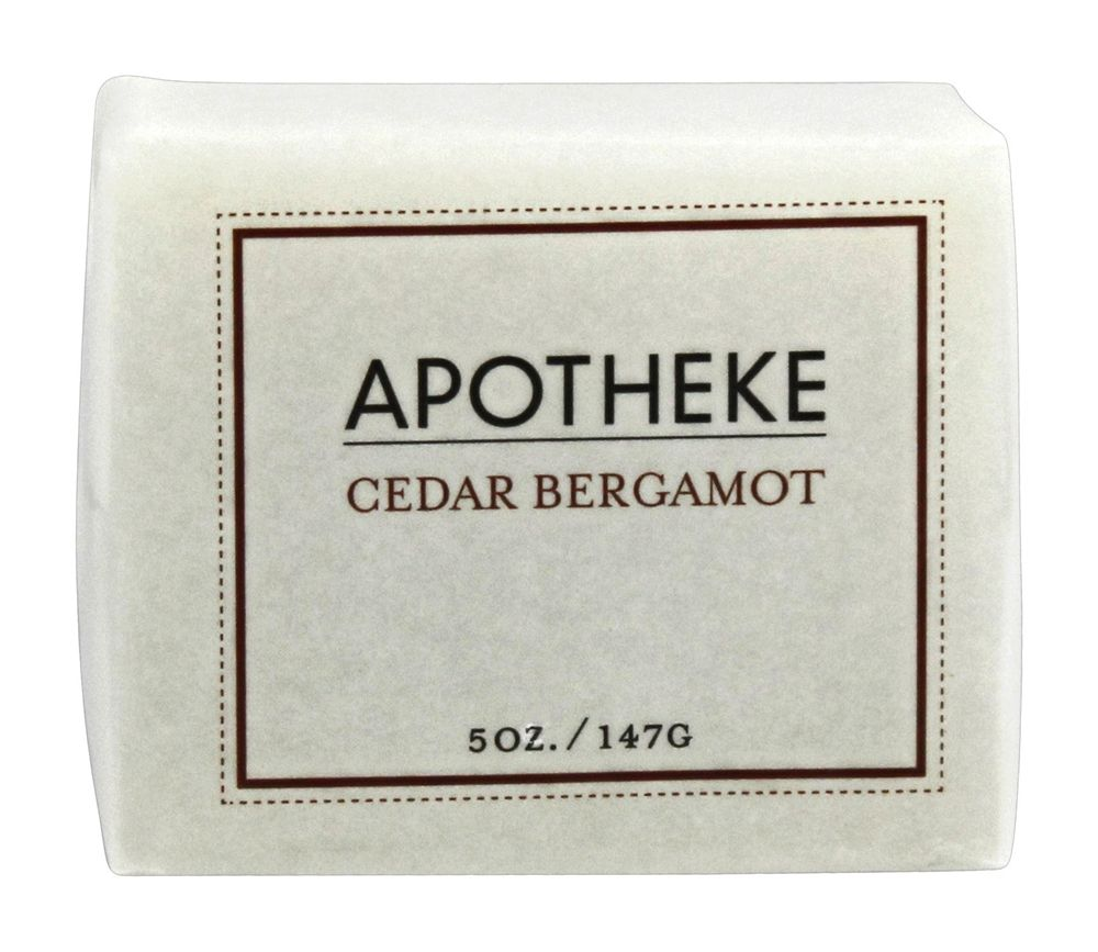Apotheke - Bar Soap Cedar Bergamot - 5 oz.