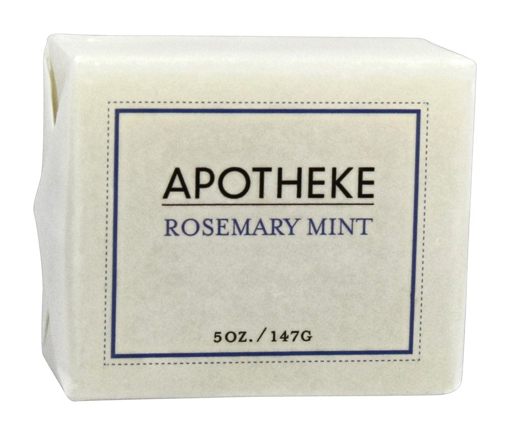 Apotheke - Bar Soap Rosemary Mint - 5 oz.