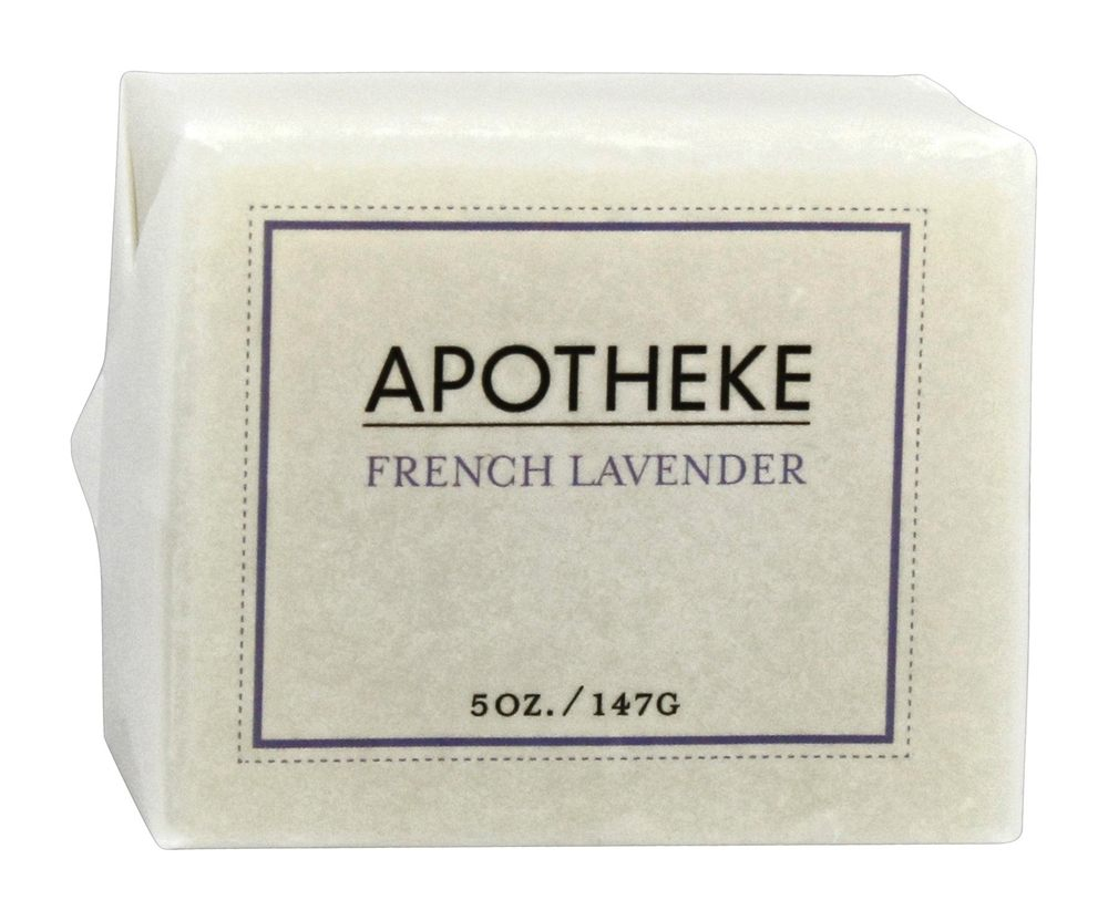 Apotheke - Bar Soap French Lavender - 5 oz.