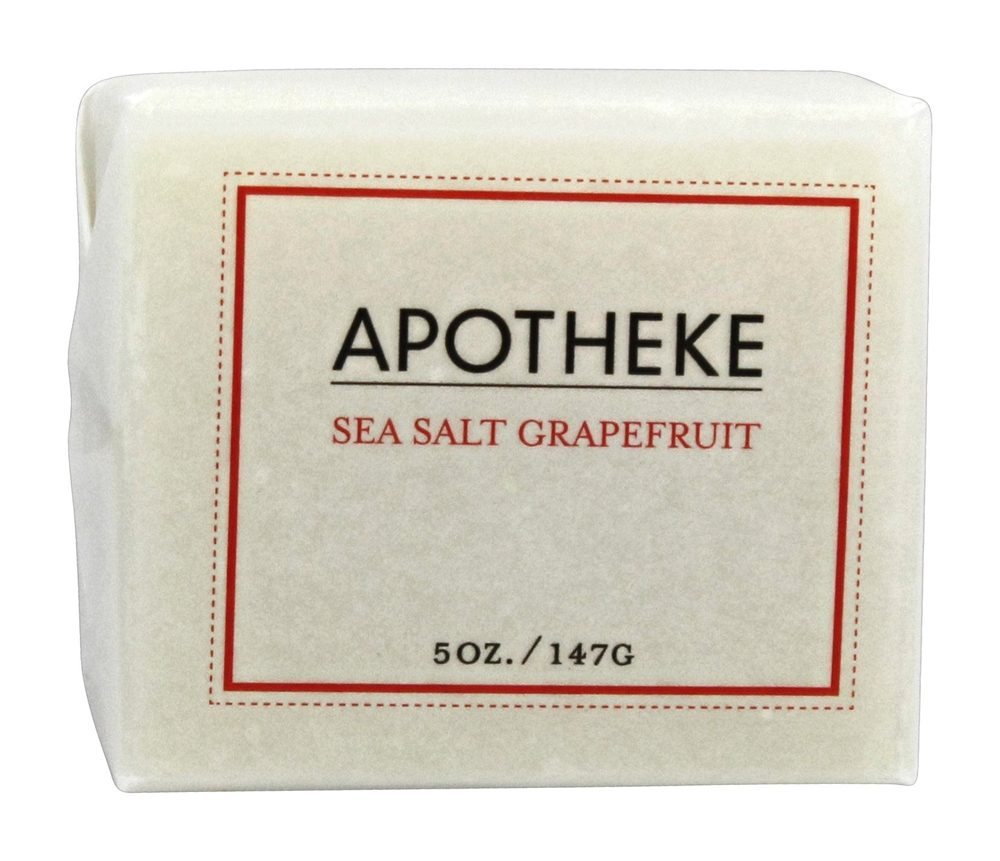Apotheke - Bar Soap Sea Salt Grapefruit - 5 oz.