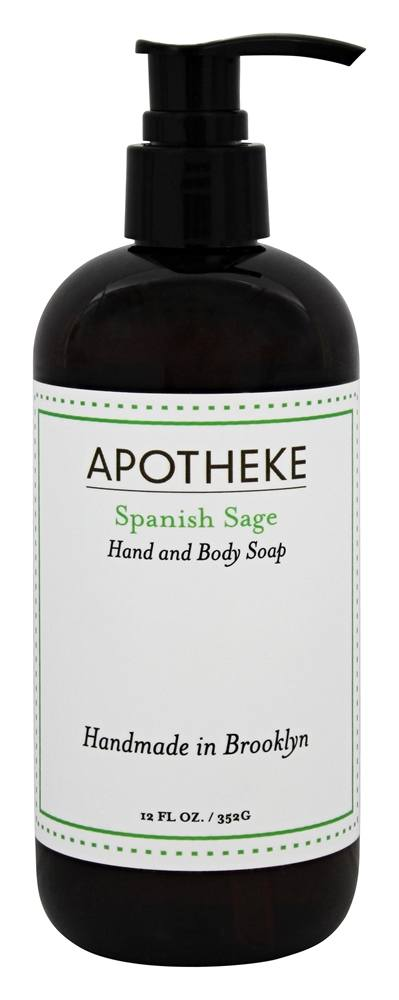 Apotheke - Hand and Body Liquid Soap Spanish Sage - 12 oz.