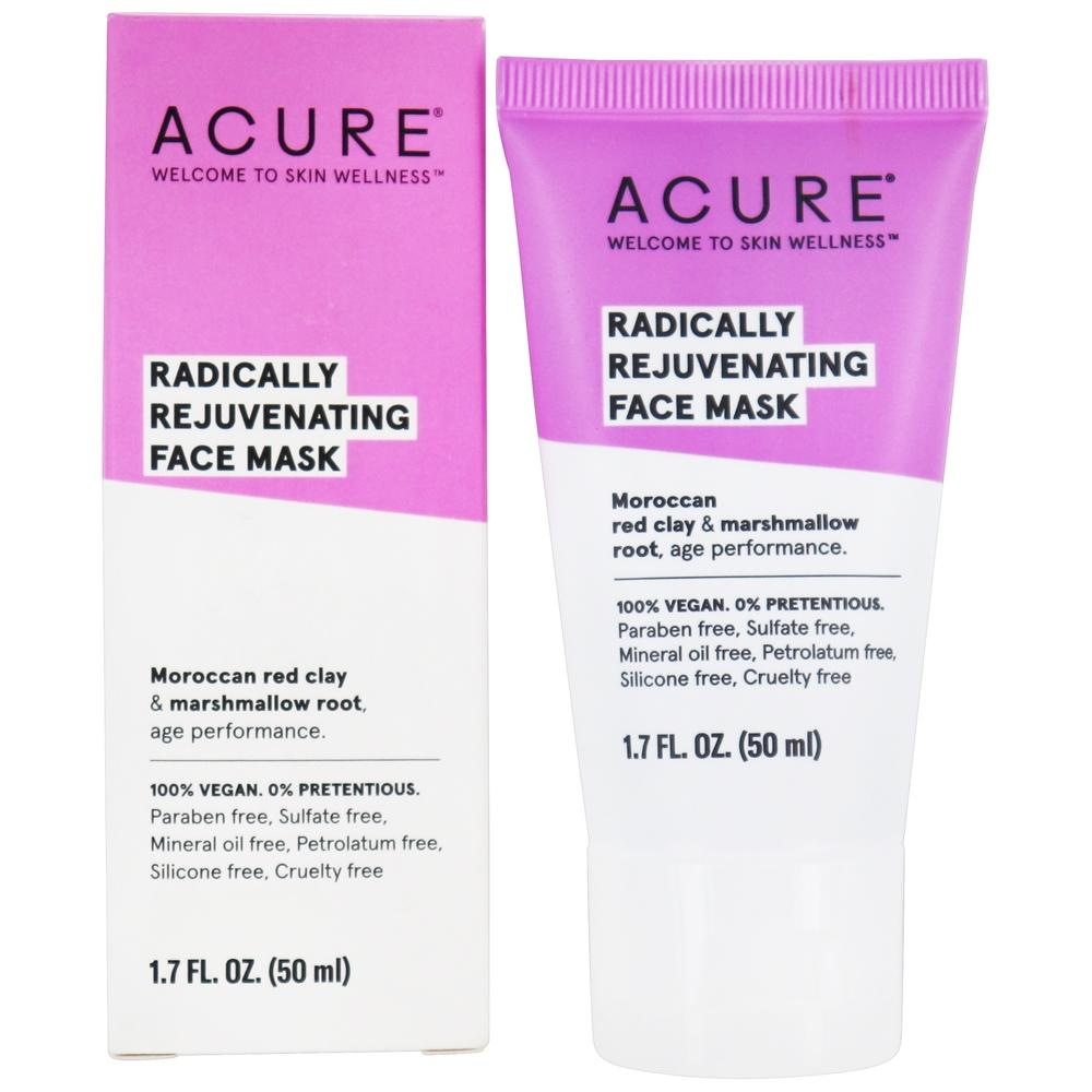 ACURE - Pore Minimizing Red Clay Mask Moroccan Red Clay + Argan Stem Cell - 1.75 oz.