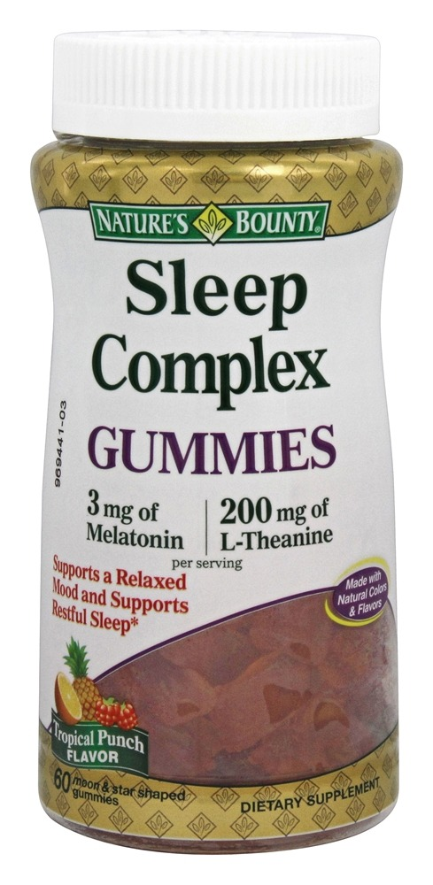 Nature's Bounty - Sleep Complex Gummies - 60 Gummies
