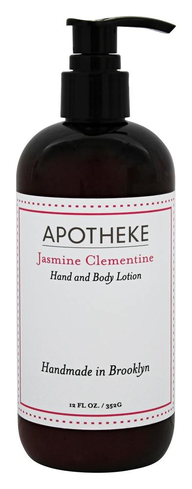 Apotheke - Hand and Body Liquid Soap Jasmine Clementine - 12 oz.