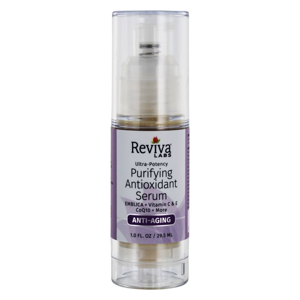 Reviva Labs - Vitamin C + Antioxidant Serum with Emblica - 1 oz.