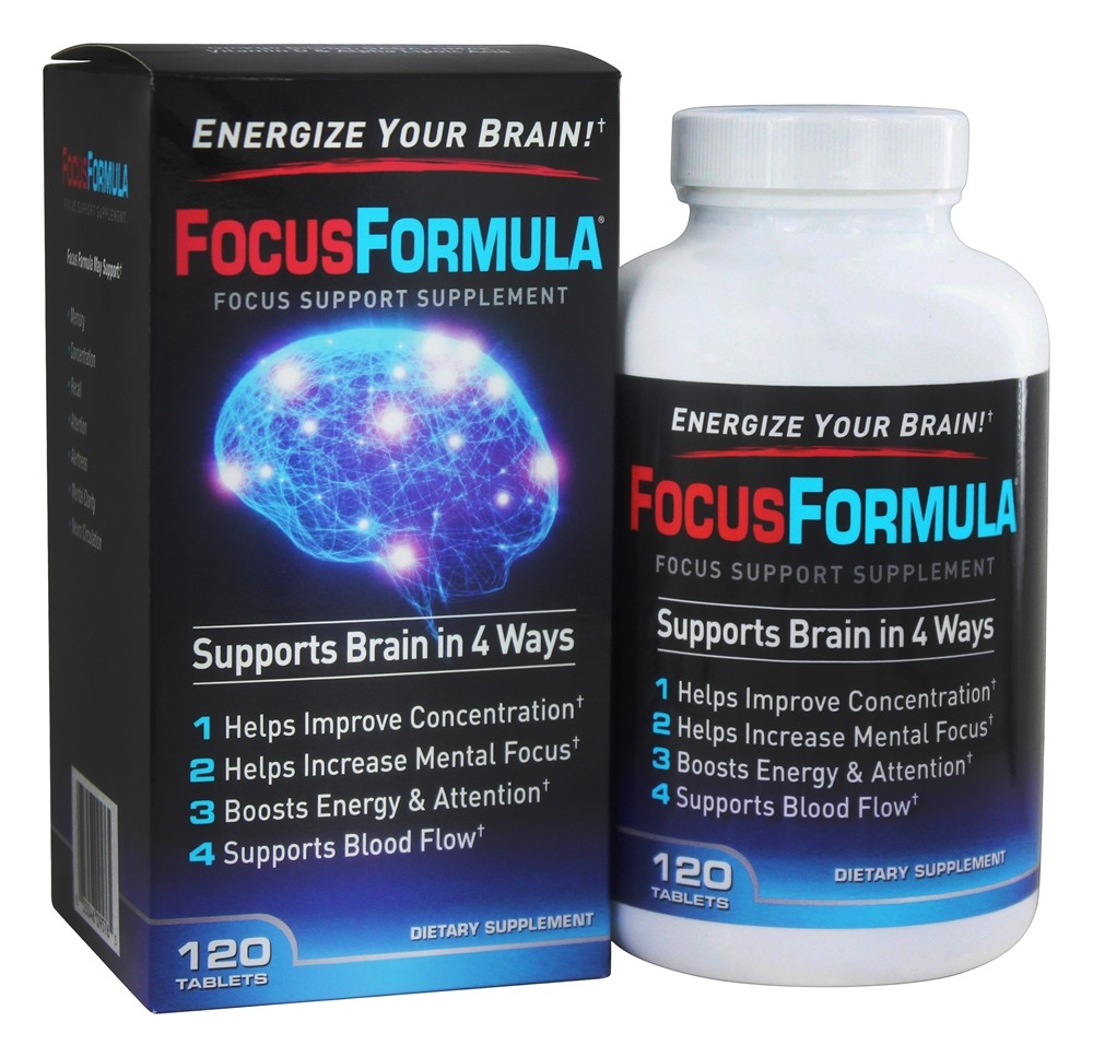 Windmill Health Products - FocusFormula Focus Support Supplement - 120 Tablets