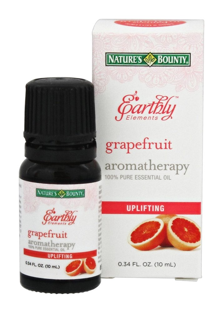 Nature's Bounty - Earthly Elements Grapefruit Essential Oil - 0.34 oz.