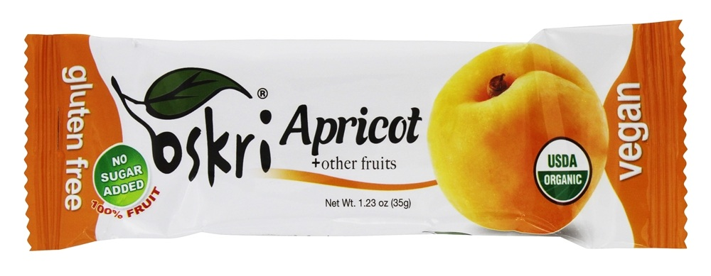 Oskri - Gluten Free Fruit Bar Apricot - 1.23 oz.