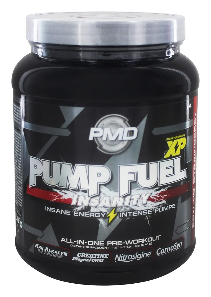 NDS Nutrition - PMD Pump Fuel v.4 Insanity Psycho Strawberry - 1.91 lbs.