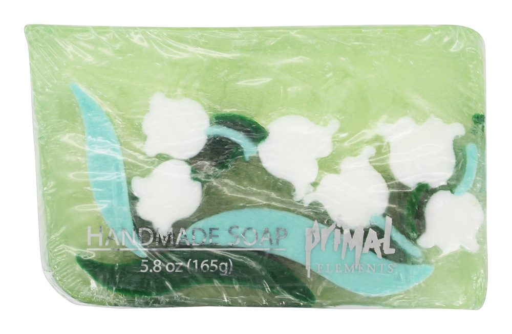 Primal Elements - Handmade Bar Soap Lily of the Valley - 5.8 oz.