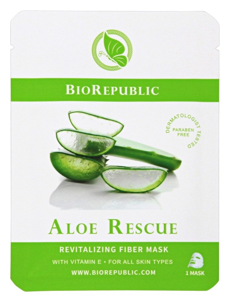 BioRepublic SkinCare - Revitalizing Fiber Mask Aloe Rescue