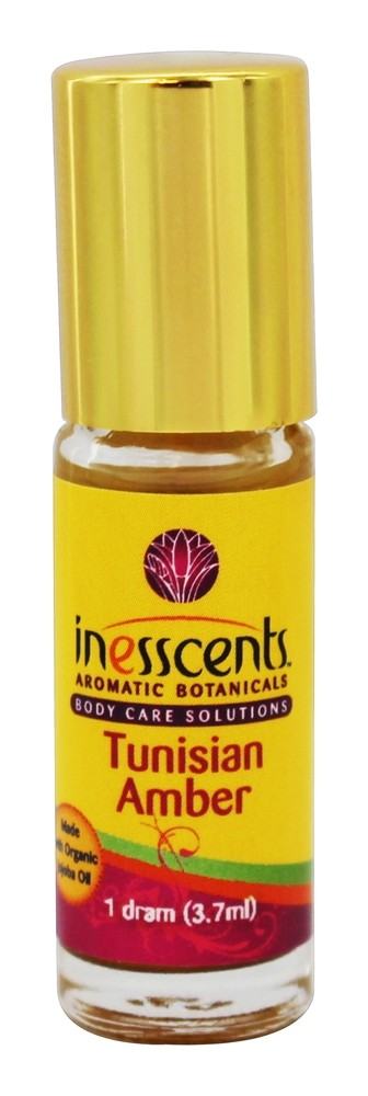 Inesscents Aromatic Botanicals - Natural Perfume Oil Tunisian Amber - 1 Dram