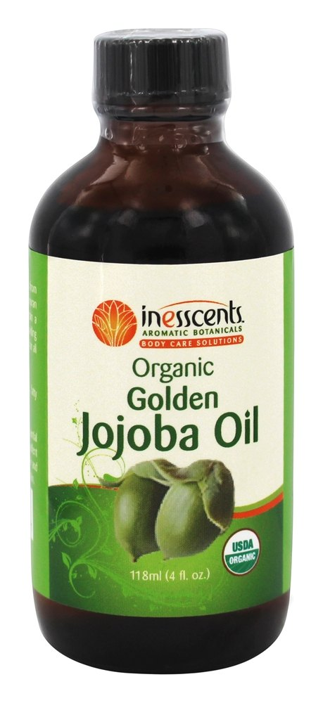 Inesscents Aromatic Botanicals - Organic Golden Jojoba Oil - 4 oz.