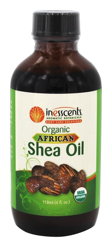 Inesscents Aromatic Botanicals - Organic African Shea Oil - 4 oz.