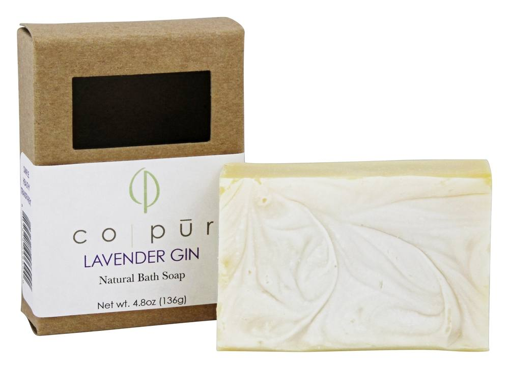 Co-Pur - Natural Bath Bar Soap Lavender Gin - 4.8 oz.
