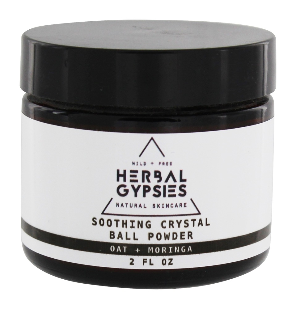 Herbal Gypsies - Crystal Ball Clay Cleanser - 4 oz.