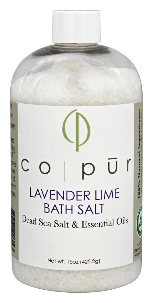 Co-Pur - Bath Salt Lavender Lime - 15 oz.