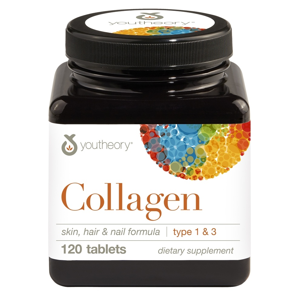 Youtheory - Collagen Type 1 & 3 - 120 Tablets