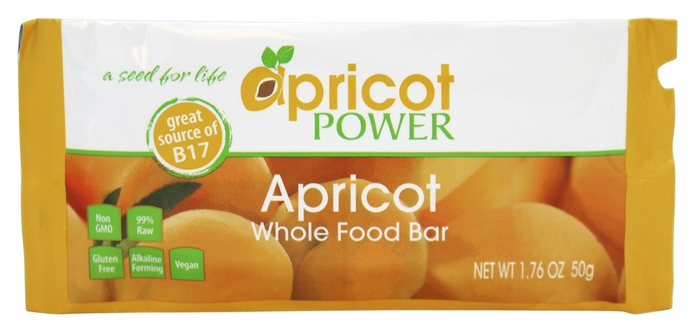 Apricot Power - Whole Food Bar Apricot - 1.76 oz.