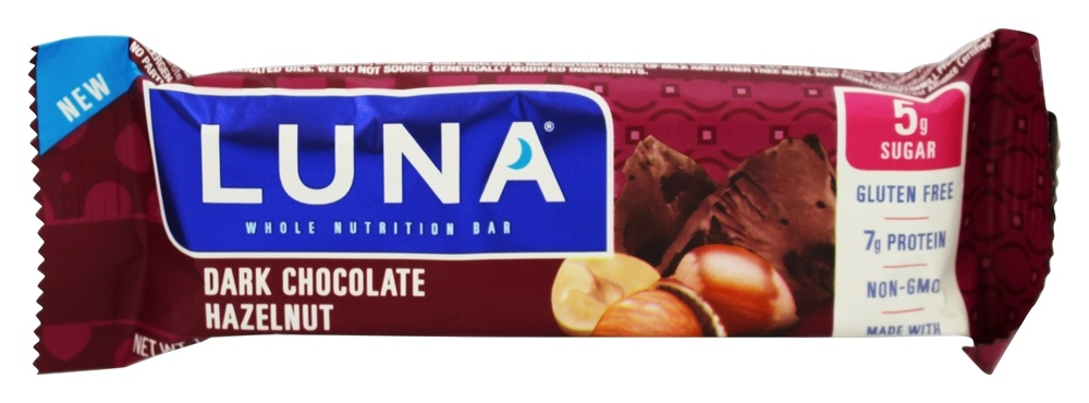 Clif Bar - Luna Dark Chocolate Bar Hazelnut - 1.48 oz.
