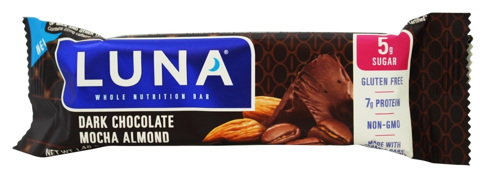 Clif Bar - Luna Dark Chocolate Bar Mocha Almond - 1.48 oz.