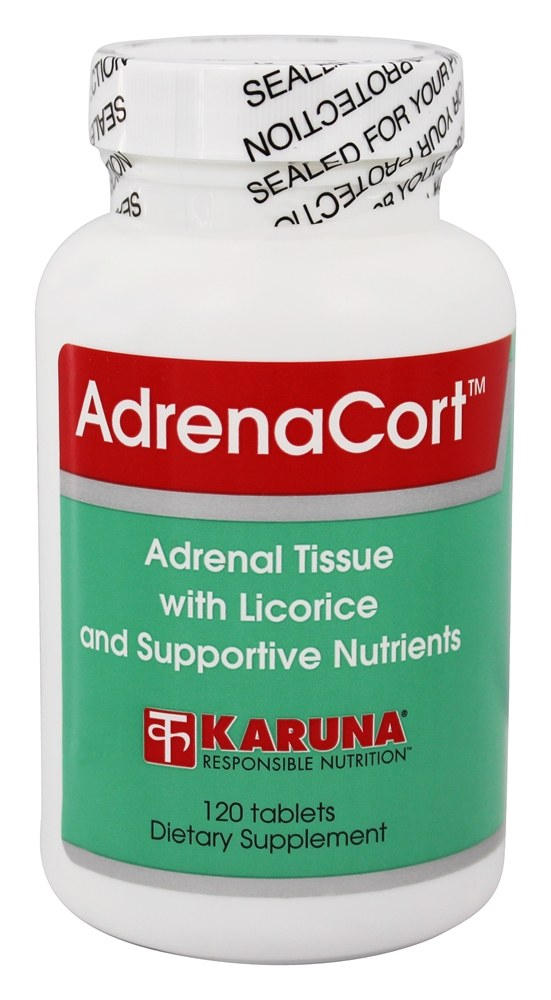 Karuna Nutrition - AdrenaCort - 120 Tablets