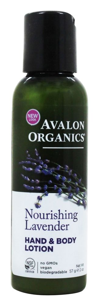 Avalon Organics - Nourishing Hand & Body Lotion Lavender - 2 oz.