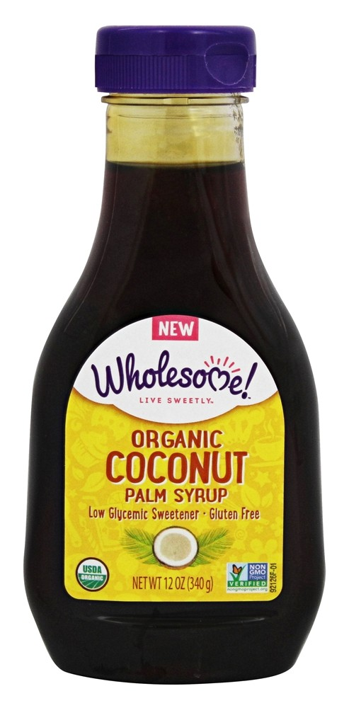 Wholesome! - Organic Coconut Palm Syrup - 12 oz.