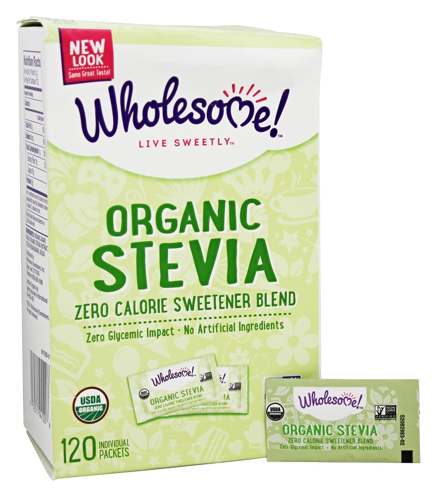 Wholesome! - Organic Stevia - 120 Packet(s)