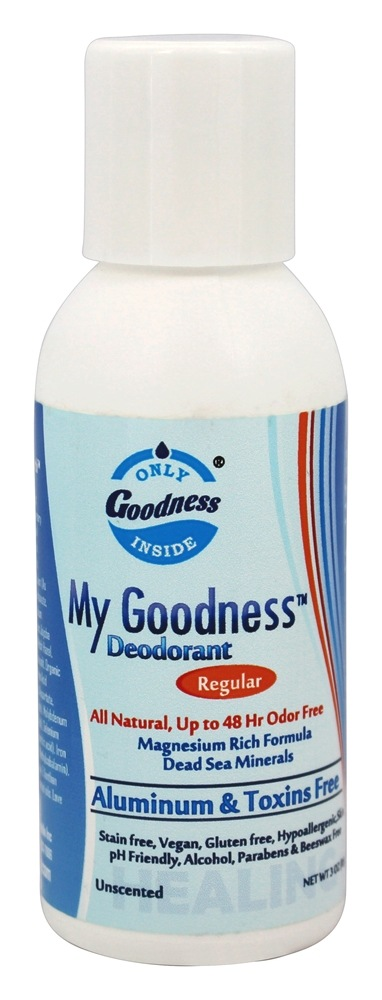 Only Goodness Inside - My Goodness Deodorant Regular Unscented - 3 oz.
