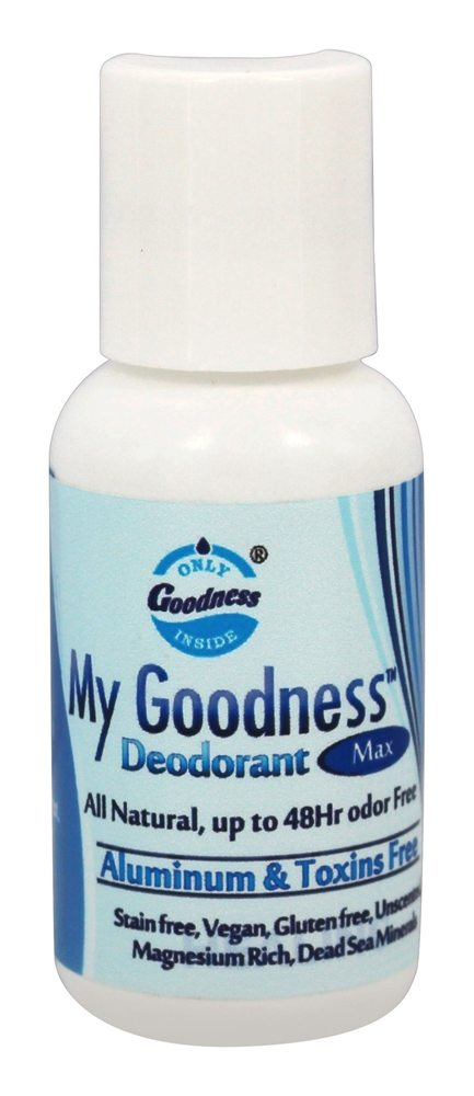Only Goodness Inside - My Goodness Deodorant Max Unscented - 1 oz.