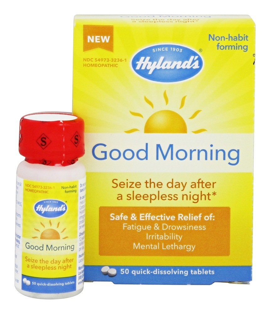 Hylands - Good Morning - 50 Quick Dissolve Tablets