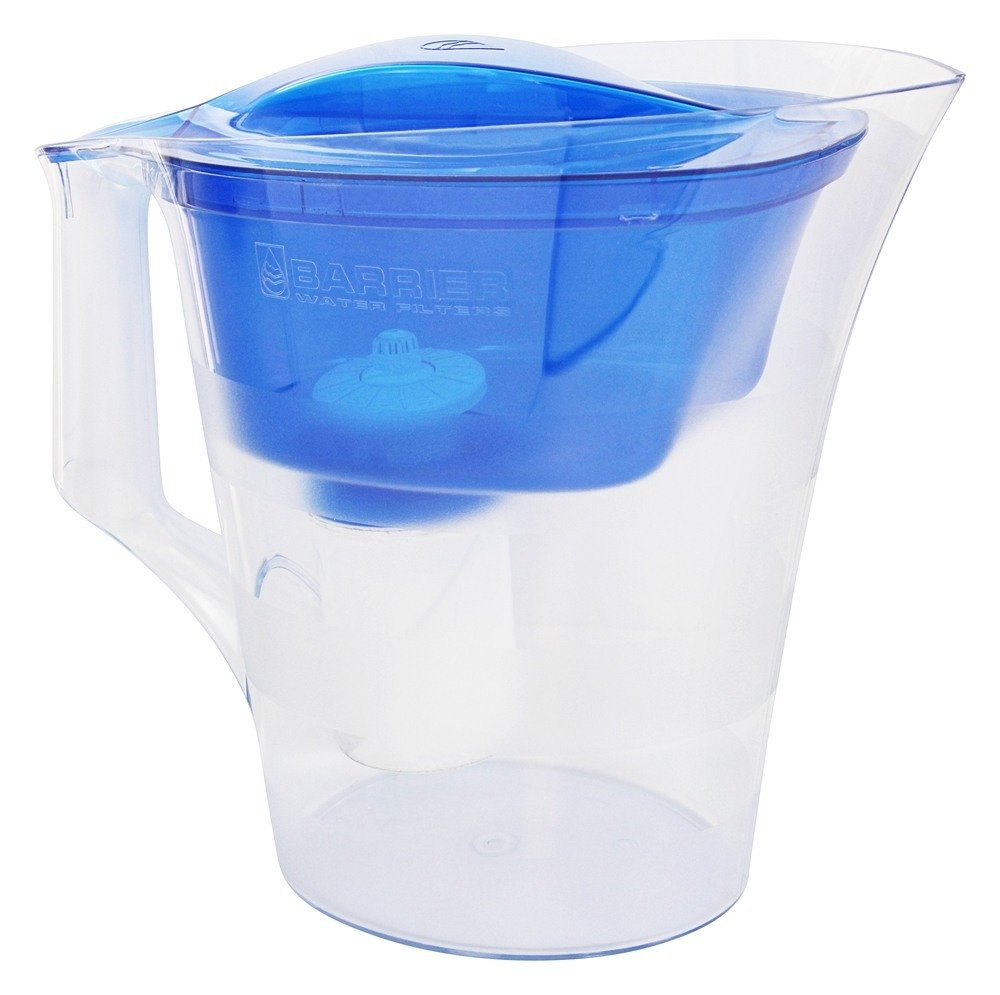 New Wave Enviro Products - Barrier Twist Water Filter Pitcher Blue - 7 Cup(s)